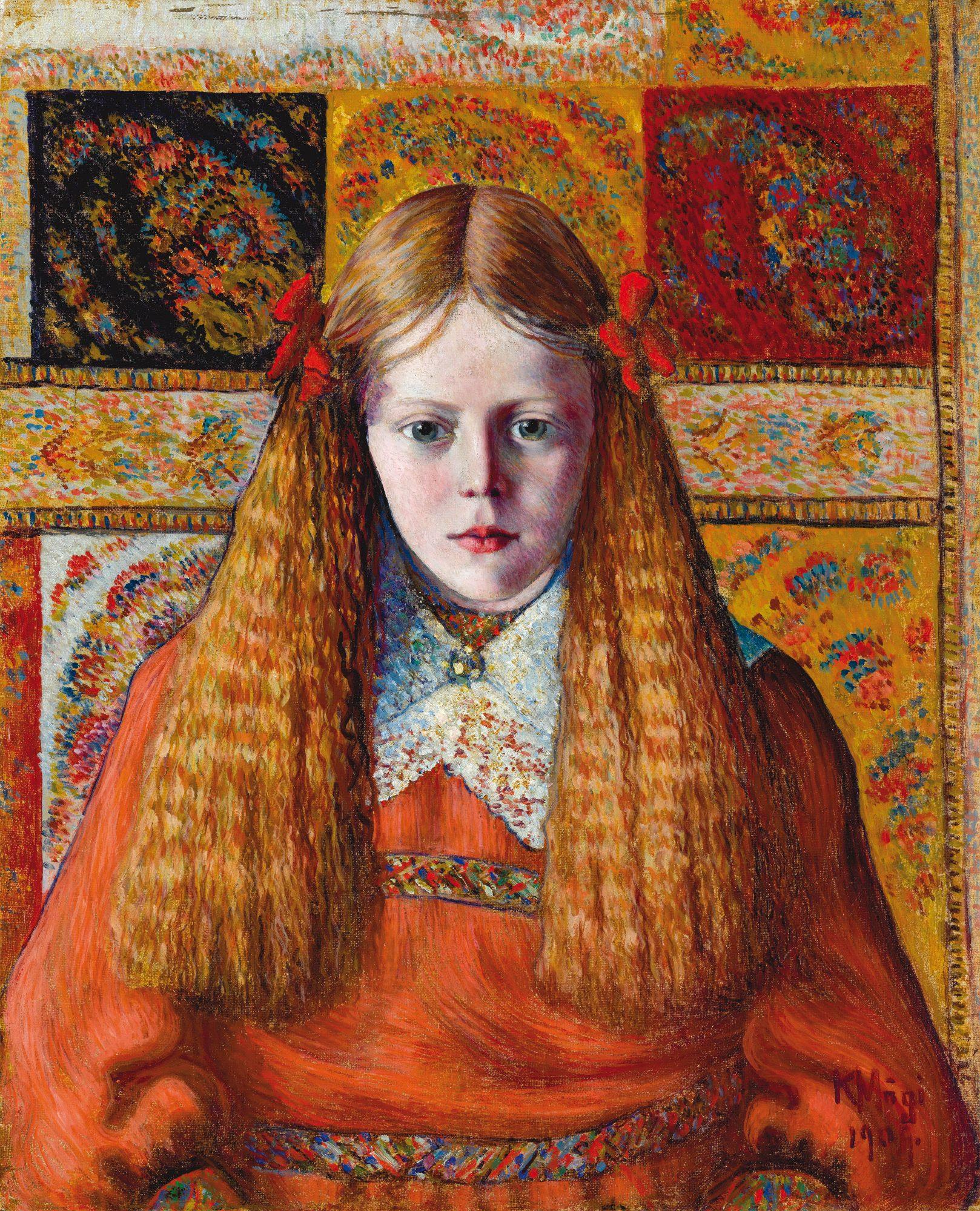 Portrait of a Norwegian Girl