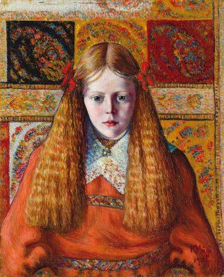 Norra tütarlapse portree