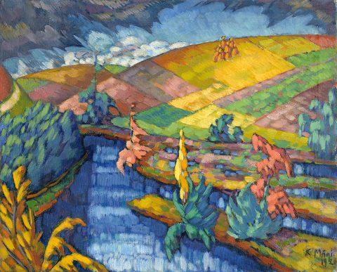 Landscape in Pühajärve