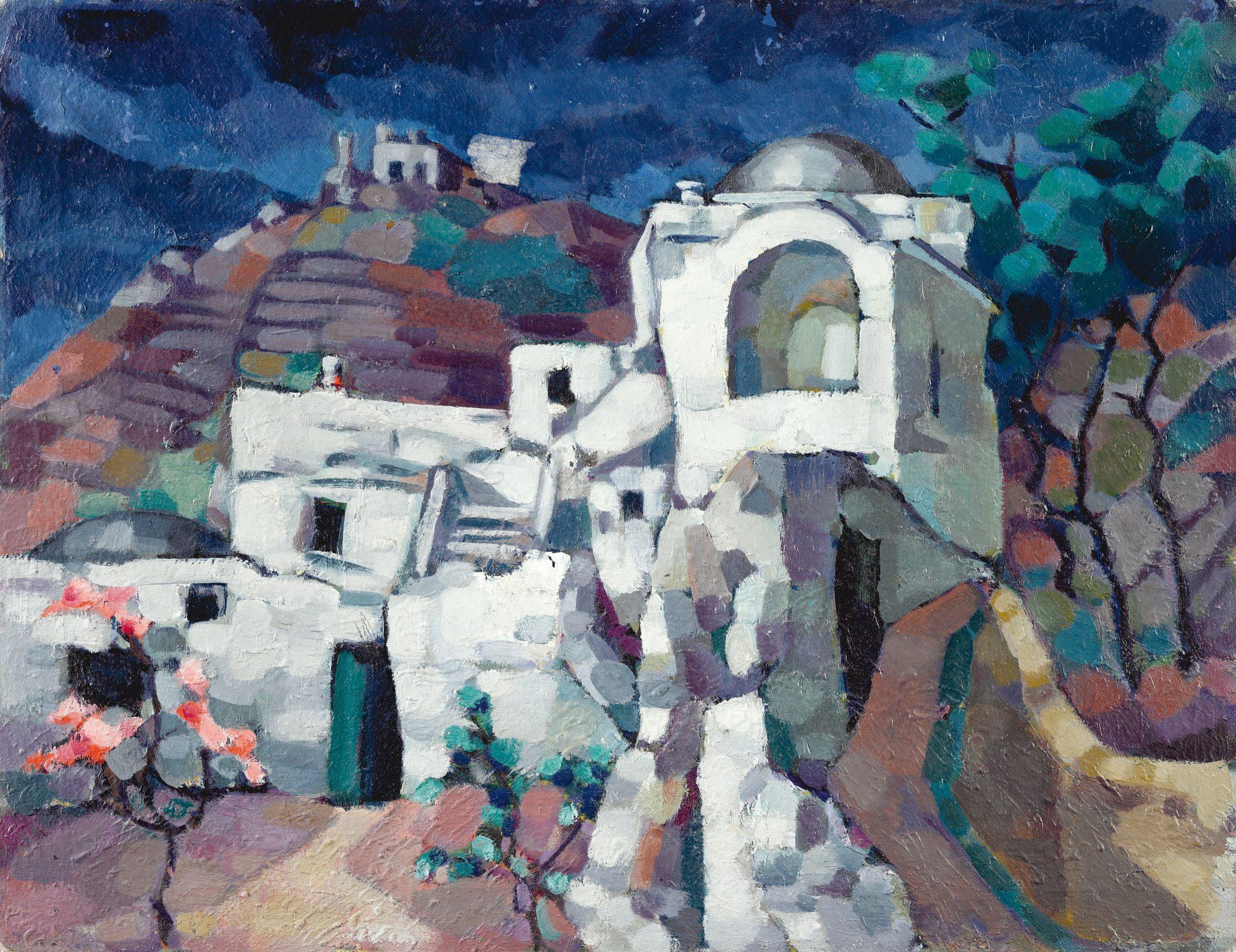 Ruins in Capri