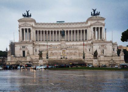 Vittoriano muuseum. Rooma