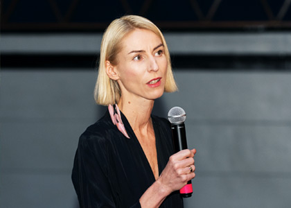 Marianne Kõrver was awarded the Konrad Mägi Foundation Prize