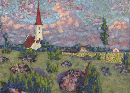 Saaremaal tähistatakse Konrad Mägi maalimispaigad