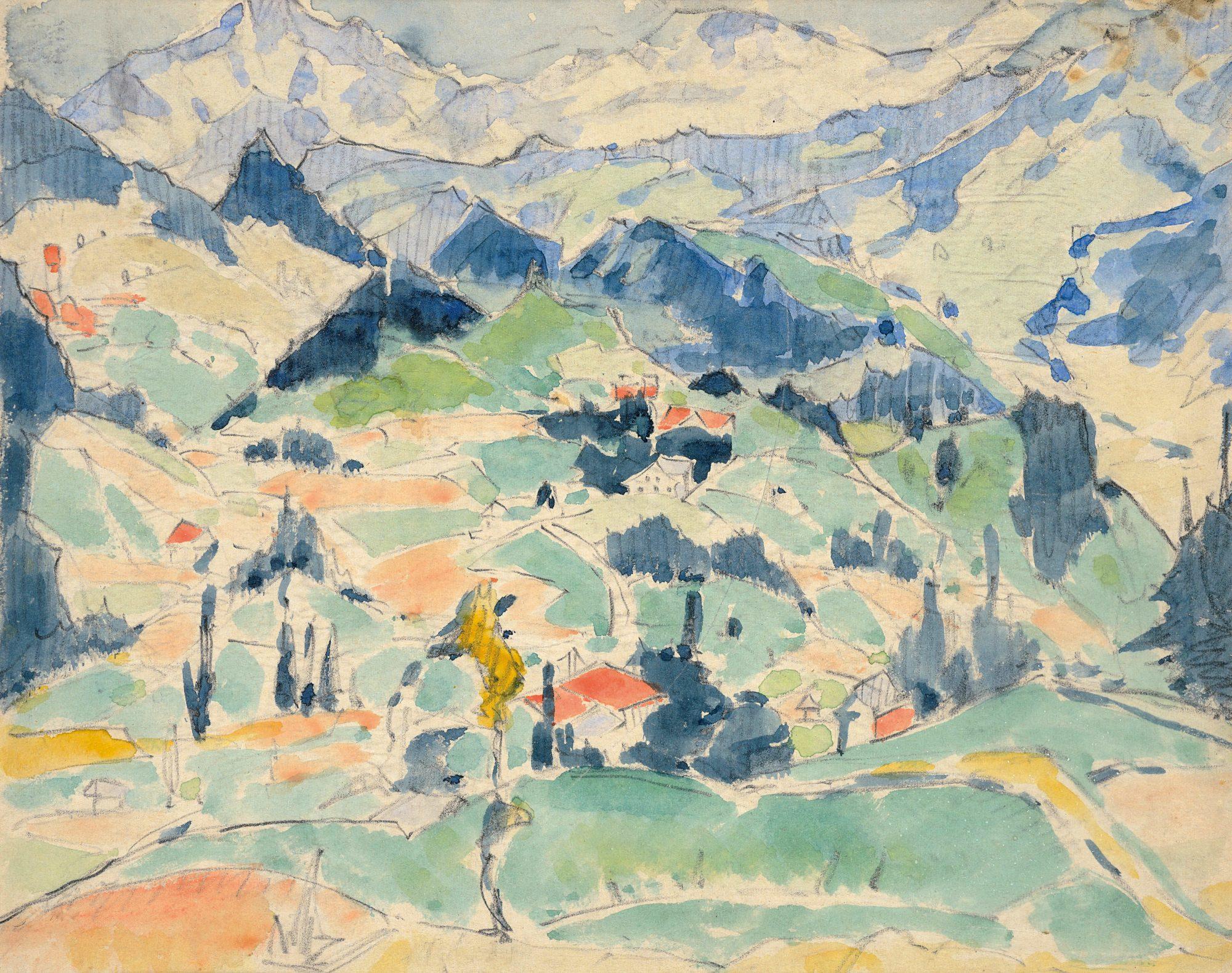 Oberstdorf Landscape